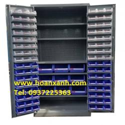 Tủ dụng cụ kết hợp, tủ đồ nghề, tủ treo dụng cụ cơ khí, khay linh kiện, khay dụng cụ