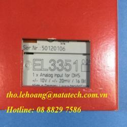 Bộ kết nối EL3351 Beckhoff - Công Ty TNHH Natatech