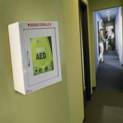 Máy sốc tim dùng trong khu công nghiệp nhà xưởng