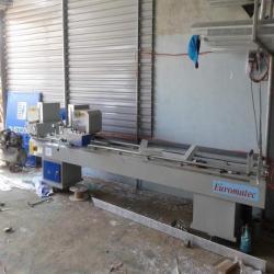 Máy cắt nhựa 2 đầu Euromatec