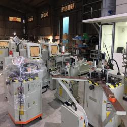 Máy sản xuất cửa nhôm Việt Pháp, Xingfa