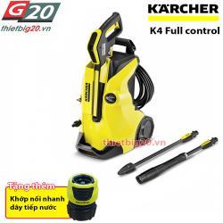 Máy bơm áp lực rửa xe mini Karcher K4 Full Control EU