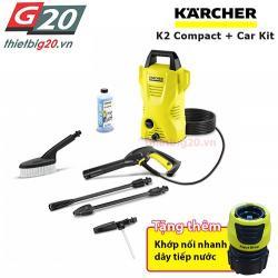 Máy bơm rửa xe gia đình Karcher K2 Compact Car