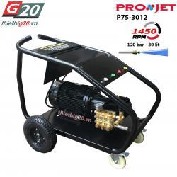 Máy rửa xe tải nhiều nước áp lực cao Projet P75-3012 - 7.5kW