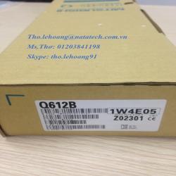 Bo mạch mở rộng Q612B Mitubishi - Thiết bị điều khiển lập trình (PLC) - Công Ty TNHH Natatech