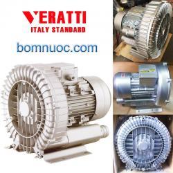 Máy thổi khí con sò Veratti 0.25 Kw Model: GB – 250