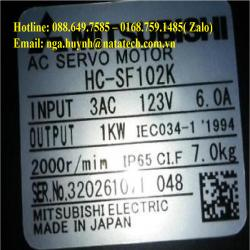 Servo Motor HC-SF102K Mitsubishi - Công ty Tnhh Natatech