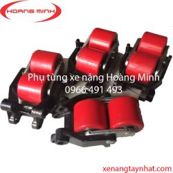Bánh xe nâng tay PU- Nylon dùng cho xe nâng