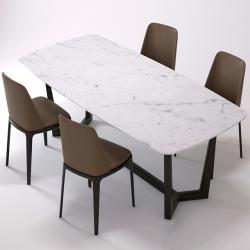 Ghế ăn Grace, sản phẩm tiêu biểu với đường nét tinh tế, uyển chuyển