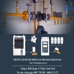 Chuyên lắp đặt hệ thống gas nhà hàng tại TPHCM