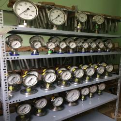 đồng hồ áp suất GB Pháp - D100 - Pretem