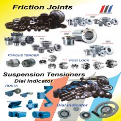 Miki Pulley Friction Joints and Suspension Tensioners