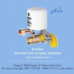 Van khóa gas tự động chất lượng cao SHT-832A Hàn Quốc
