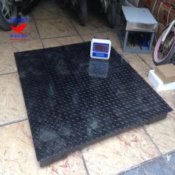 Mẫu sản phẩm Cân sàn điện tử 1 tấn phổ biến