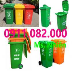 Thanh lý thùng rác 120 lít 240 lít hàng chất lượng giá rẻ- mẫu mã đẹp mới 100%