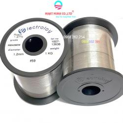 Cuộn thiếc hàn Electroloy - Malaysia 40/60 - 1.2MM
