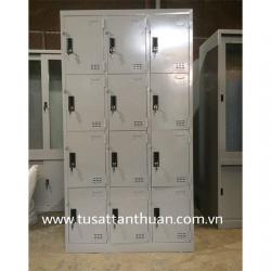 Tủ locker 12 ngăn 3 khoang TCN12C3K tủ cá nhân