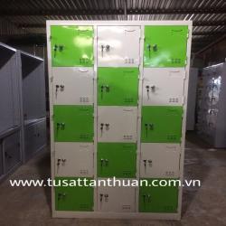 Tủ locker 15 ngăn 3 khoang 15C3K tủ cá nhân