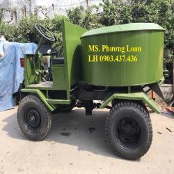 Bán máy trộn bê tông tự hành 9 bao 1 cầu mứa trộn 1, 5 khối có người lái