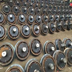 Bánh xe goong sản xuất gạch