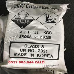 Kẽm Clorua ZnCl2 98% - hàn quốc - mạ kẽm - mạ kẽm nhúng nóng
