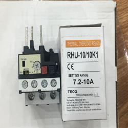 Relay nhiệt Teco RHU - 10/10K1 , hàng chuẩn chất lượng;.